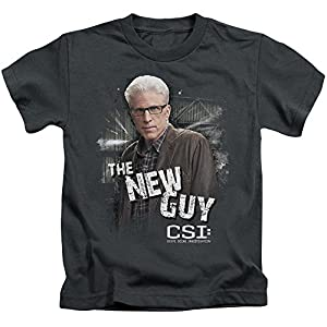 CSI TV Show CBS The New Guy Little Boys T-Shirt Tee