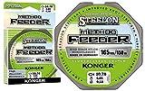 Konger Steelon Method Feeder Fil de pêche en fluorocarbone Enduit monofile 150 m 0,18-0,30 mm, 2571500, 0,18mm / 4,85kg