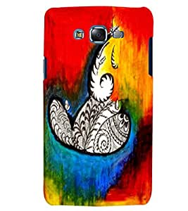 Citydreamz Lord Ganesh/Gods/Spiritual/Colorful Hard Polycarbonate Designer Back Case Cover For Samsung Galaxy E7