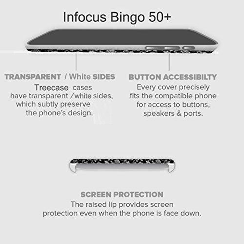 TREECASE Designer Printed Soft Silicone Back Case Cover For Infocus Bingo 50+ / Infocus Bingo 50 Plus