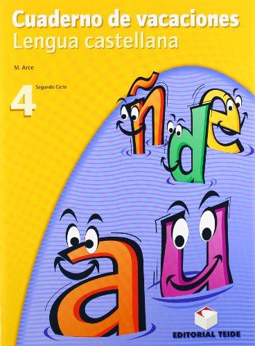 Cuaderno de vacaciones. Lengua castellana 4º ESO - 9788430749461