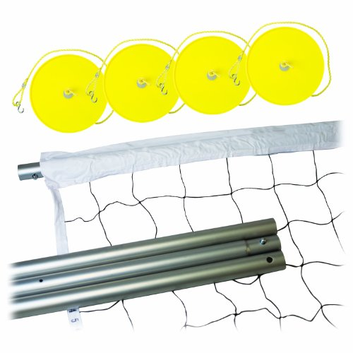 Franklin Sports Expert Stahl Volleyball Post und Net System (Volleyball-pole-systeme)