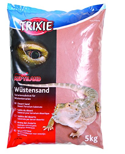 Trixie 76132 Wüstensand für Terrarien, 5 kg, rot