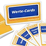 """Wertekarten-Set """"Werte-Cards"""" für Coaching, Teamarbeit & Seminare/33 Coaching-Karten zum Finden persönlicher Werte zur Orientierung"""