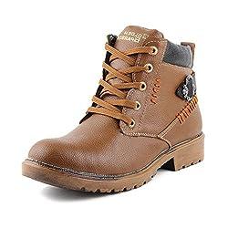 Golden Sparrow MenS Black Fabric Synthetic Casual Shoe (Tm-D25-06)- 6 Uk