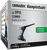 Rameder Komplettsatz, Dachträger SquareBar für OPEL Combo (115957-00054-15)