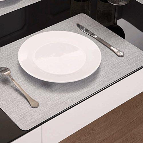 Sets De Table Sets De Table/De Salle À Manger Tissé En/Non-Skip Résistant À La Chaleur De Cuisine De Bande En Sets De Table/30*45Cm SHOME