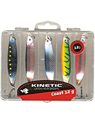 KINETIC 5er Pack Jebo Herring - Meerforellenblinker