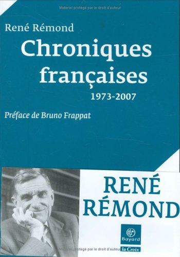 Chroniques françaises : 1973-2007