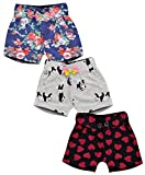 #9: Aatu Kutty Girl's Cotton Shorts - Pack of 3