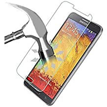 HQ CLOUD 1 Film Vitre en Verre Trempe de Protection d'ecran Transparent pour Samsung Galaxy Note 3 N9000 N9002 N9005