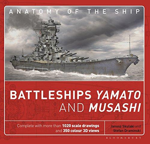 Battleships Yamato and Musashi (Anatomy of The Ship) por Janusz Skulski