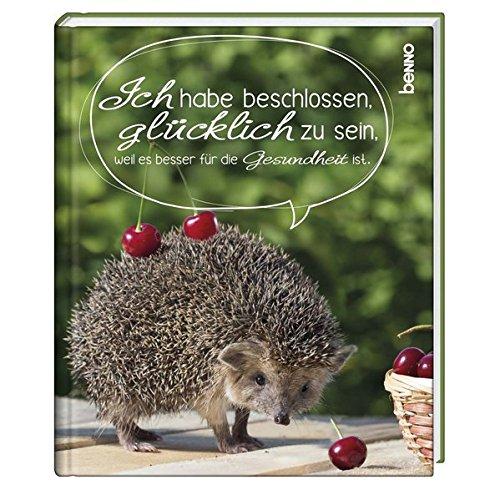 Geschenkbuch »Ich habe beschlossen, glücklich zu sein, weil es besser für die Gesundheit ist«