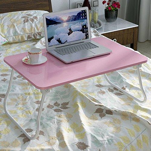 Jinsheng computer desk letto scrivania del dormitorio a casa mini mini tavolo multifunzionale,rosa piu 'soldi 60 * 40 cm