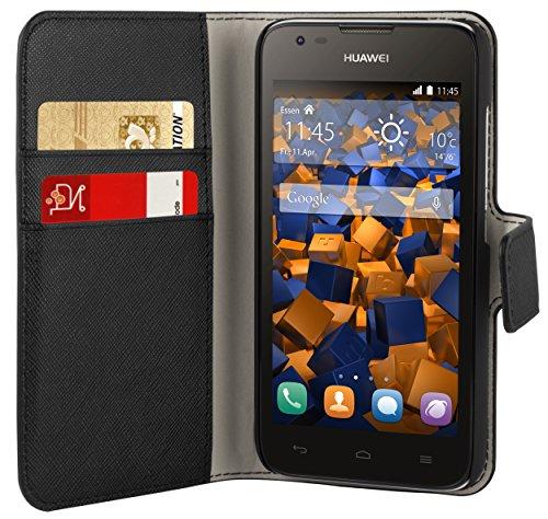 mumbi Tasche im Bookstyle für Huawei Ascend Y550 Tasche