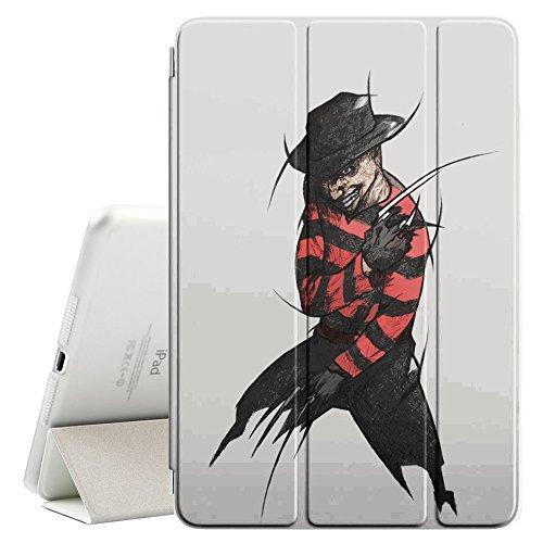 YOYOcovers [ FOR iPad Mini 2 / 3 / 4 ] Smart Cover con funzione del basamento di sonno - Krueger Elm Street