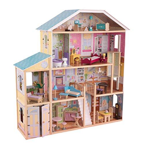 KidKraft 65252 - Mansión Majestuosa, casa de muñecas, multicolor