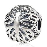 Florfliegen Butterfly Clip Charm 925Sterling Silber Stopper Charme Passt für europäische Charms Armband
