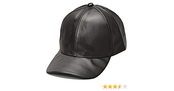 THENICE Hip Hop Pelle Cappello Unisex Adulto Baseball cap