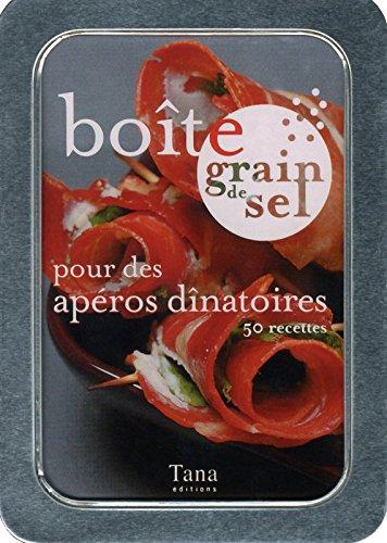 Boîte grain de sel pour des apéros dînatoires : 50 recettes