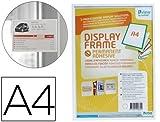 Inforahmen A4 weiß selbstklebend ABS Kunststoff
