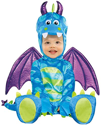 Cute Baby Animal Kostüm - Fancy Me Baby Jungen Mädchen Cute Little Dragon Mythical Animal Creature Karneval Halloween Kostüm Outfit 6-18 Monate