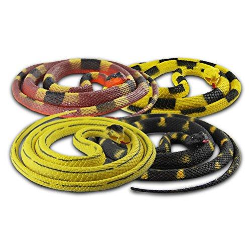 Kunststoff Schlange sortiert Plastikschlange 130 cm