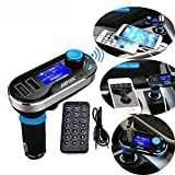 Best AGPtek Bluetooth For Samsungs - Multipoint FM Transmitter, AGPtek Bluetooth MP3 Player Hands-free Review