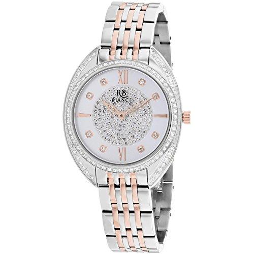 Roberto Bianci Women's Aveta 32mm Two Tone Steel Bracelet Quartz Watch RB0212
