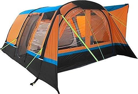 Olpro Cocoon Breeze Inflatable Campervan Awning - Orange/Black, 240