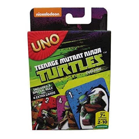 Jeu Teenage Mutant Ninja Turtles UNO Card