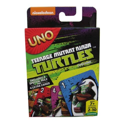 (Teenage Mutant Ninja Turtles UNO-Kartenspiel)