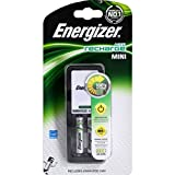 Energizer - Mini chargeur Accu Recharge Mini + 2 piles rechargeables LR03/AAA - Le chargeur + 2 piles - (for multi-item order extra postage cost will be reimbursed)