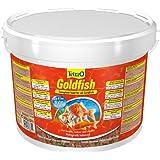 TETRA Goldfish - Aliment Complet en flocons pour Poisson Rouge - 10L