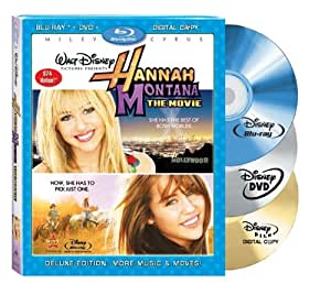 Hannah Montana: The Movie [Blu-ray] [2009] [US Import]