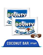 Bounty Coconut Filled Chocolate Miniatures Diwali Gift Pack, 227g (Pack of 2)