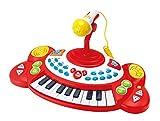 Winfun Beat Bop Keyboard 18 Tasten Klavier mit Mikrofon Sounds