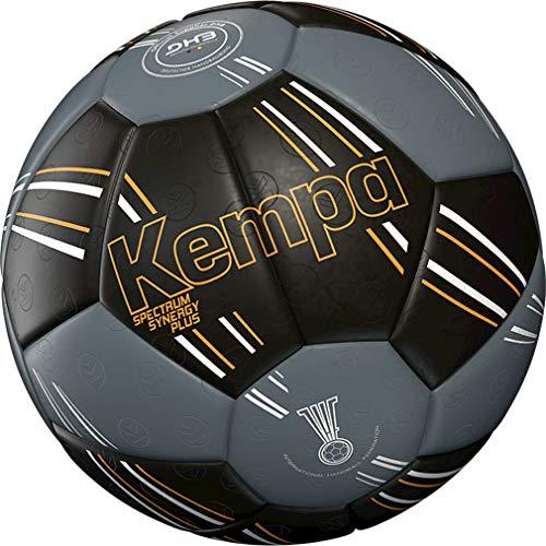 Kempa handball Spectrum Top Training & Spielball schwarz + Ballpumpe (2)