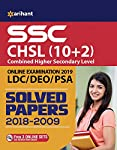 SSC CHSL (10+2) Solved Papers Combined Higher Secondary