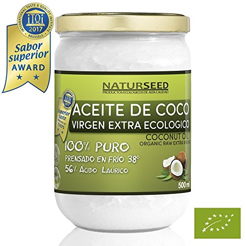 Naturseed - Aceite coco Virgen Extra Orgánico