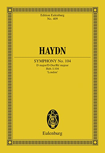 symphony-no-104-d-major-salomon-hob-i-104-eulenburg-studienpartituren-german-edition