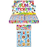 24 X Pirate Stickers - REFERENCE PBF127
