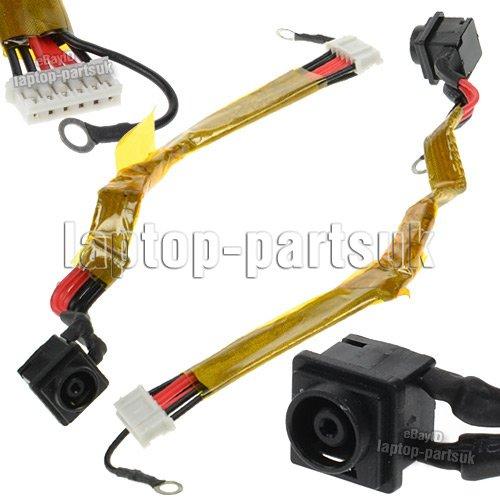 SONY Vaio VGN-CR116E/P DC Power Jack, Strombuchse, Buchse, Netzteilbuchse mit Kabel (Vaio Power Jack)