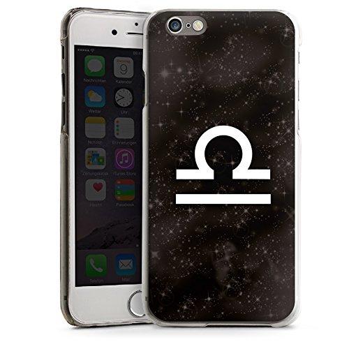 Apple iPhone 4 Housse Étui Silicone Coque Protection Signes du zodiaque Étoiles Balance CasDur transparent
