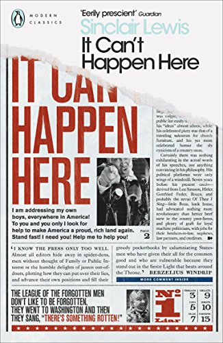 It Can't Happen Here par Sinclair Lewis