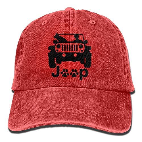 Hund & Katze Trucker Baseball verstellbare Unisex Herren Hip Hop Beanies (Spike Herren Beanie)