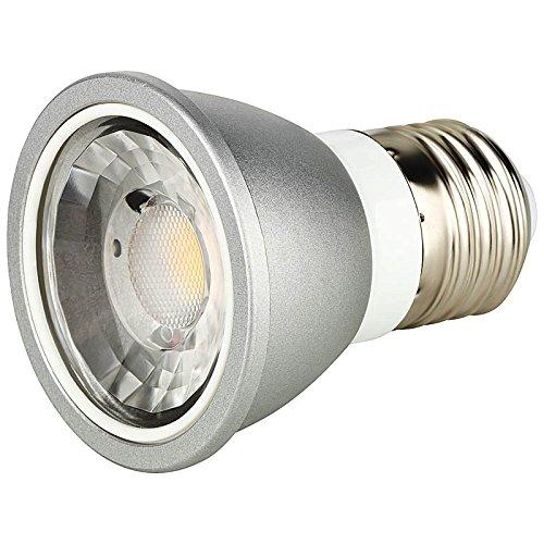 Faretti Led E27.6 W Led E27 6 W Faretto Spot Lampada Vite Attacco 600 Lumen