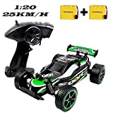 SZJJX Ferngesteuertes Auto, Hohe Geschwindigkeit RC Rennauto Rennfahrer, 1:20 Maßstab Fahrzeug, 2,4GHz 2WD Elektro Funkfernsteuerung Off-Road Buggy Spielzeug für Kinder Geschenk