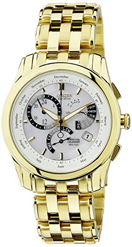 Citizen Analog White Dial Men's Watch - BL8006-58A