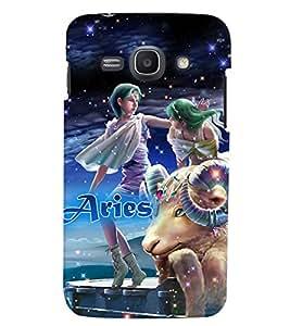 PRINTVISA Zodiac Aries Case Cover for Samsung Galaxy J1